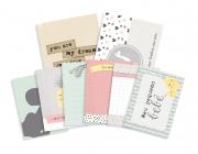 Cards Meu Pequeno Bebê - Coleção Meu Coração é Seu - JuJu Scrapbook