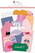 Kit de Die Cuts Só nós Dois - Coleção Espalhando Amor - JuJu Scrapbook