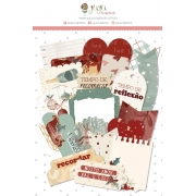 Kit de Die Cuts Tempo de Celebrar - Coleção Tempo de Celebrar - JuJu Scrapbook