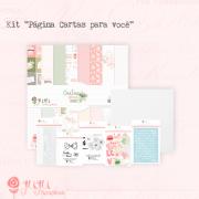 Kit Página Cartas para Você - Juju Scrapbook