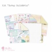 Kit Scrap Solidário - Juju Scrapbook