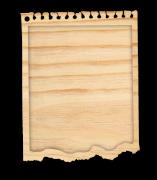Mini Álbum Bloquinho - Coleção Cartas para Você - Juju Scrapbook