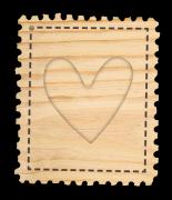 Mini Álbum Selo de Amor - Coleção Cartas para Você - Juju Scrapbook