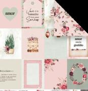 Papel Inspire Amor - Coleção Sonho Meu - JuJu Scrapbook