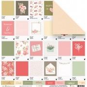 Papel Pantones para Você - Coleção Cartas para Você - JuJu Scrapbook
