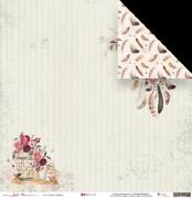 Papel Plante Sonhos - Coleção Sonho Meu - JuJu Scrapbook