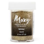 Pó de Emboss Moxy Glitter - Gold / American Crafts
