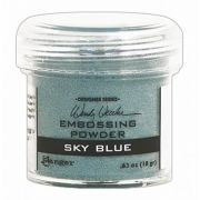 Pó para Emboss Embossing Power - Cor Sky Blue - Ranger