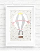 Poster Balão - Coleção Meu Coração É Seu / Juju Scrapbook