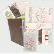 Scrap Minuto - Combo da Hora da Coleção Shabby Dreams / JuJu Scrapbook