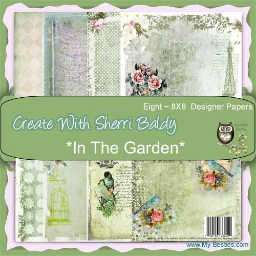 Papel My Besties - In the Garden  - JuJu Scrapbook