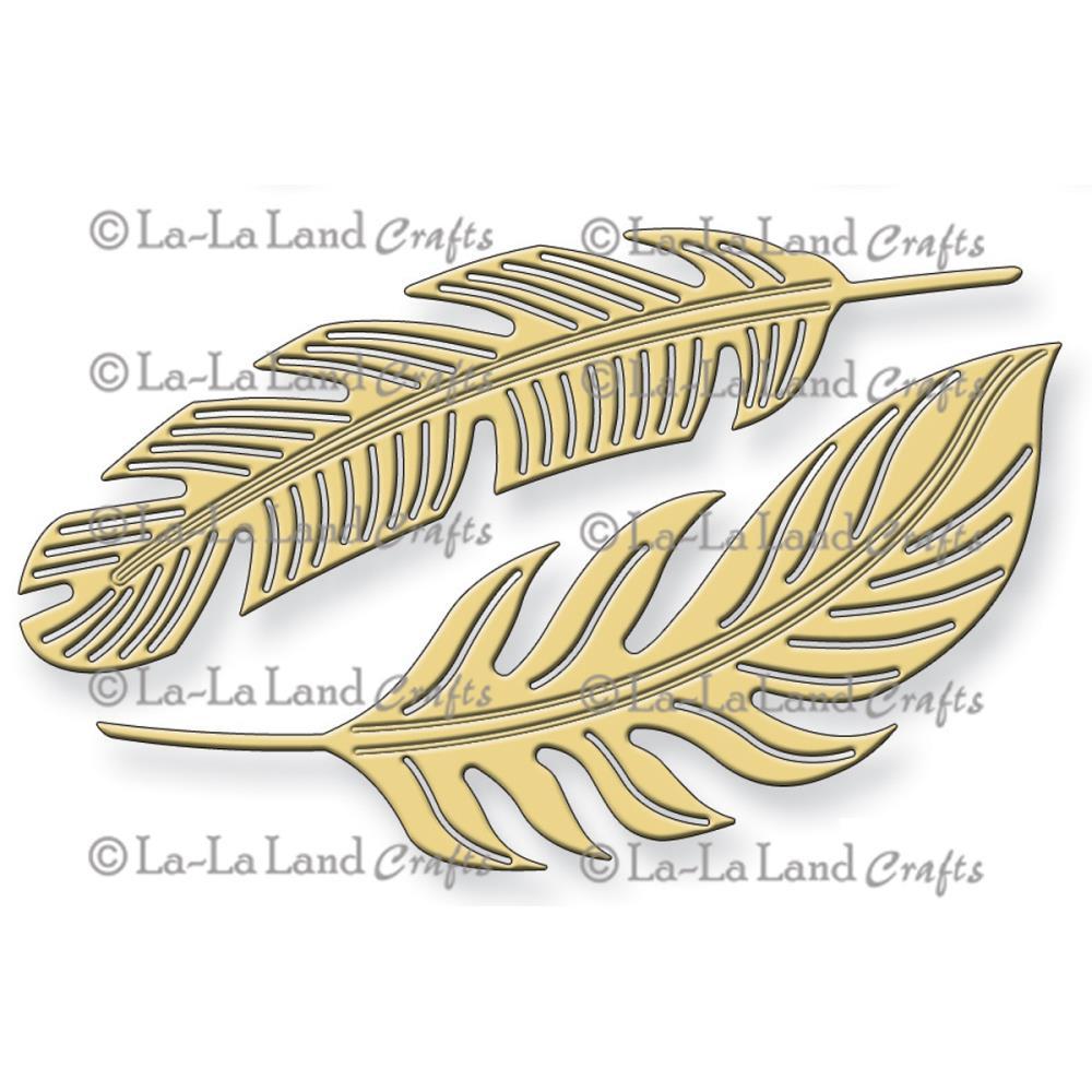 Die La La Land - Modelo Feathers  - JuJu Scrapbook