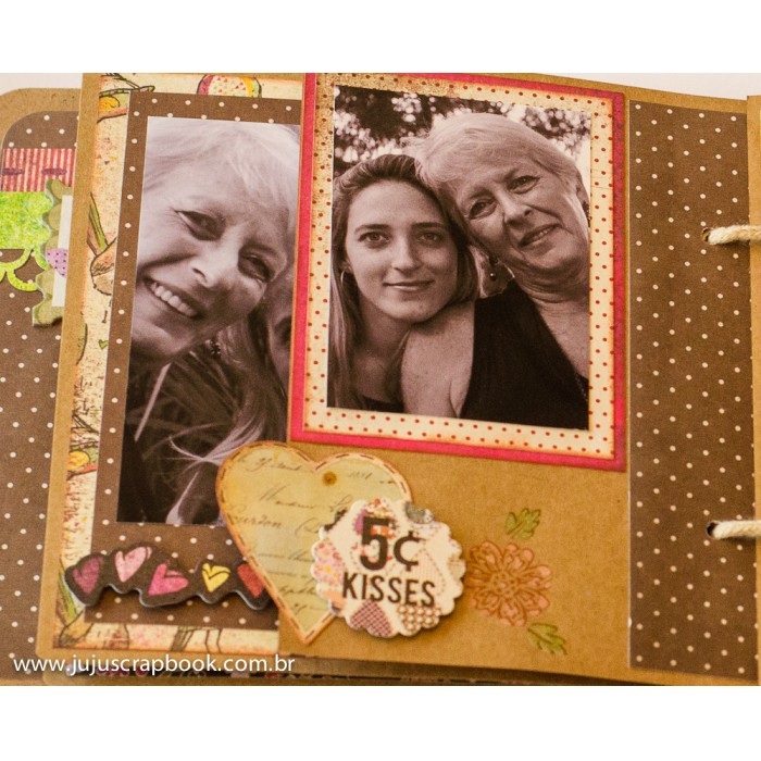 Álbum Happy Day  - JuJu Scrapbook