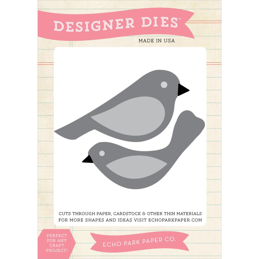 Die Echo Park Paper Co. - Modelo Bird Set  - JuJu Scrapbook