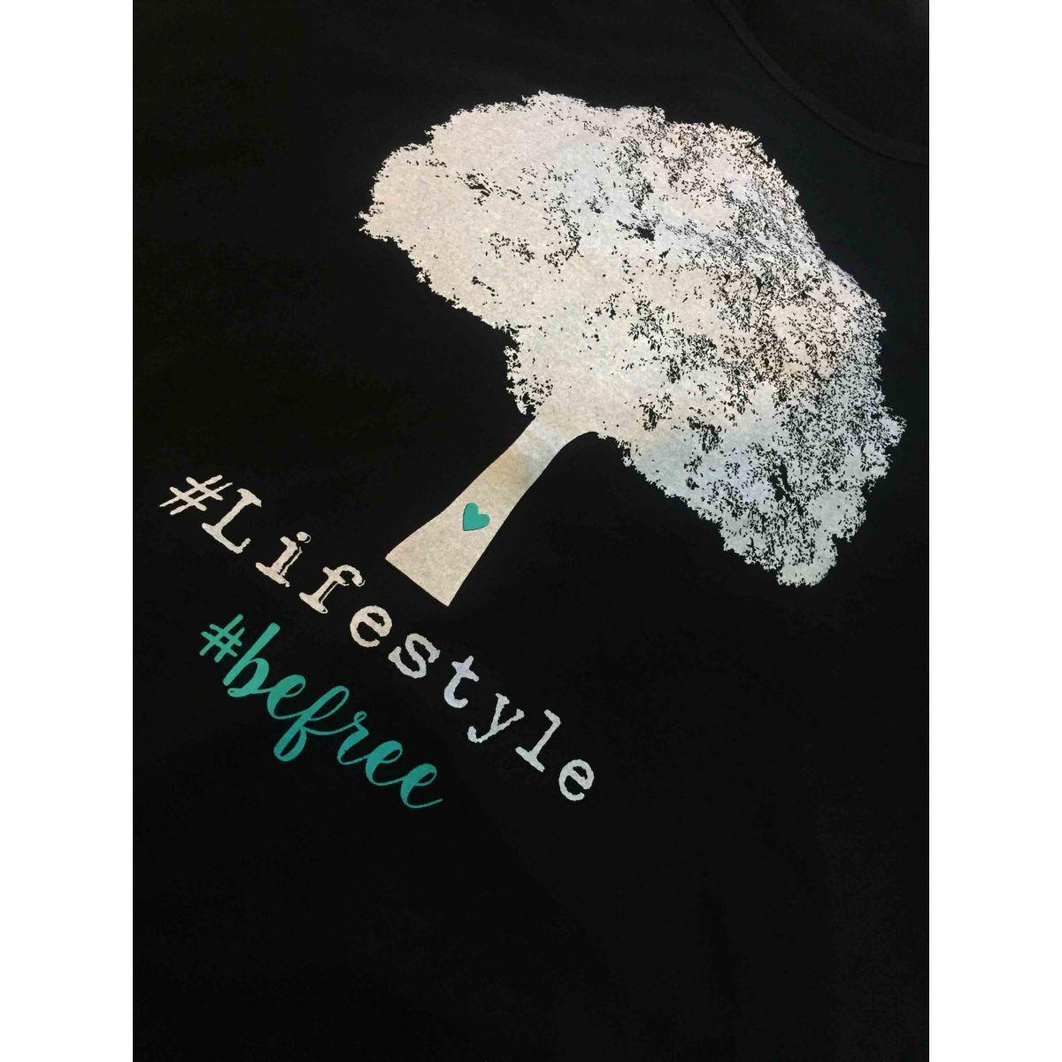 T-shirt Modelo Be Free (100% viscose) - Coleção Família para Sempre / JuJu Scrapbook  - JuJu Scrapbook
