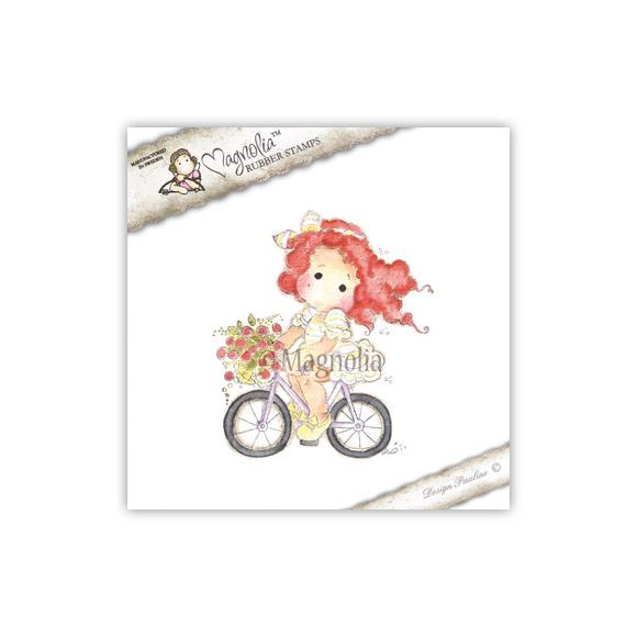Carimbo Magnolia On The Road Tilda  - JuJu Scrapbook