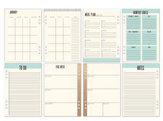 Planner Frank Garcia - My Prima Planner / Prima Marketing  - JuJu Scrapbook