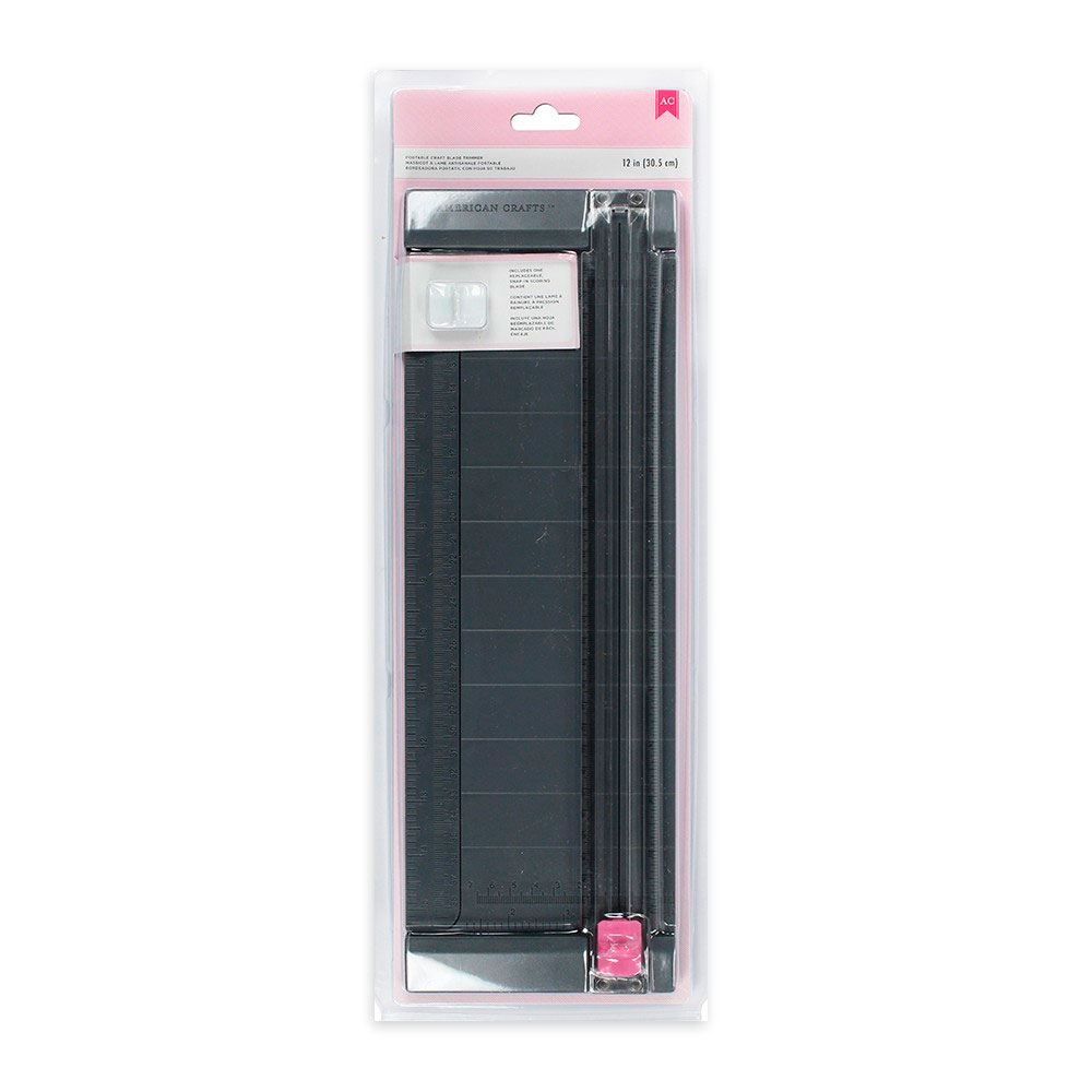 Refiladora/Guilhotina Portable Craft Blade Trimmer - American Crafts  - JuJu Scrapbook