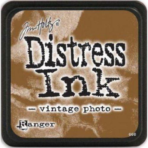 Carimbeira Distress Ink Tim Holtz Grande - Vintage Photo  - JuJu Scrapbook