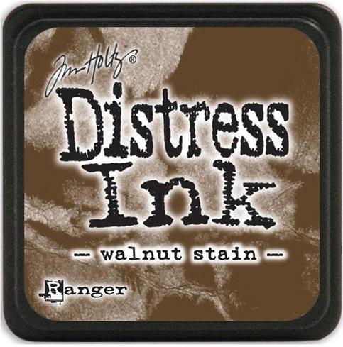 Carimbeira Distress Ink Tim Holtz Grande - Walnut Stain  - JuJu Scrapbook