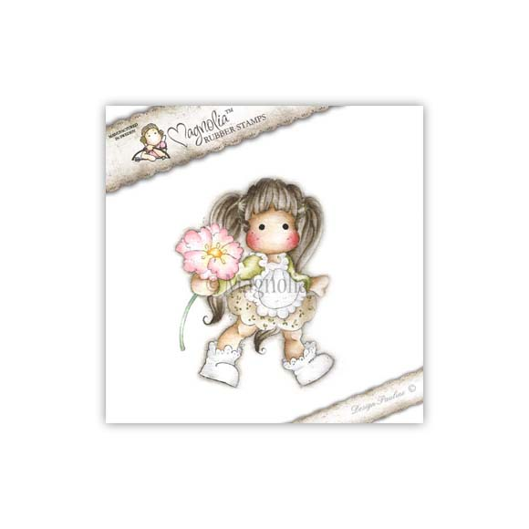 Carimbo Magnolia - Modelo Tilda Special Poppy  - JuJu Scrapbook