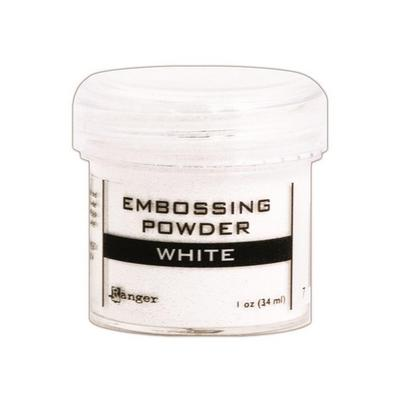 Pó para Emboss Embossing Power - Cor White - Ranger  - JuJu Scrapbook