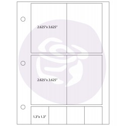 Photo Sleeve 4 Pockets + 4 Pockets - Prima Marketing  - JuJu Scrapbook