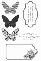 Clear Stamps - Kaleidoscope - KaiserCraft  - JuJu Scrapbook