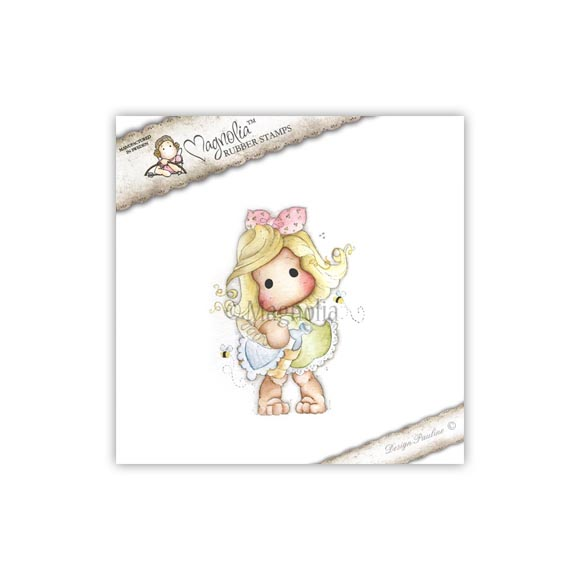 Carimbo Tilda Summer Buzz - Magnolia  - JuJu Scrapbook