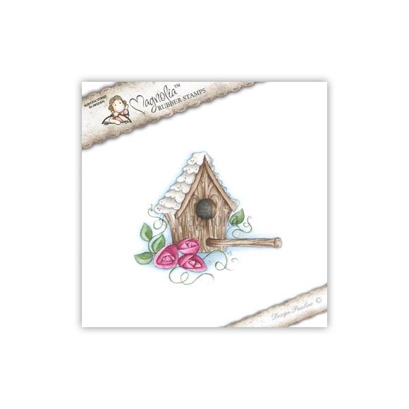 Carimbo Home Tweet Home - Magnolia  - JuJu Scrapbook