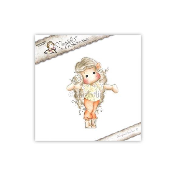 Carimbo Magnolia - Modelo Tiptoe Tilda  - JuJu Scrapbook