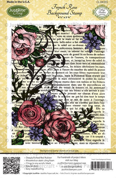 Carimbo Just Rite - Modelo CL-04355  - JuJu Scrapbook