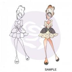Carimbo Doll Prima Marketing - Modelo Mindy  - JuJu Scrapbook