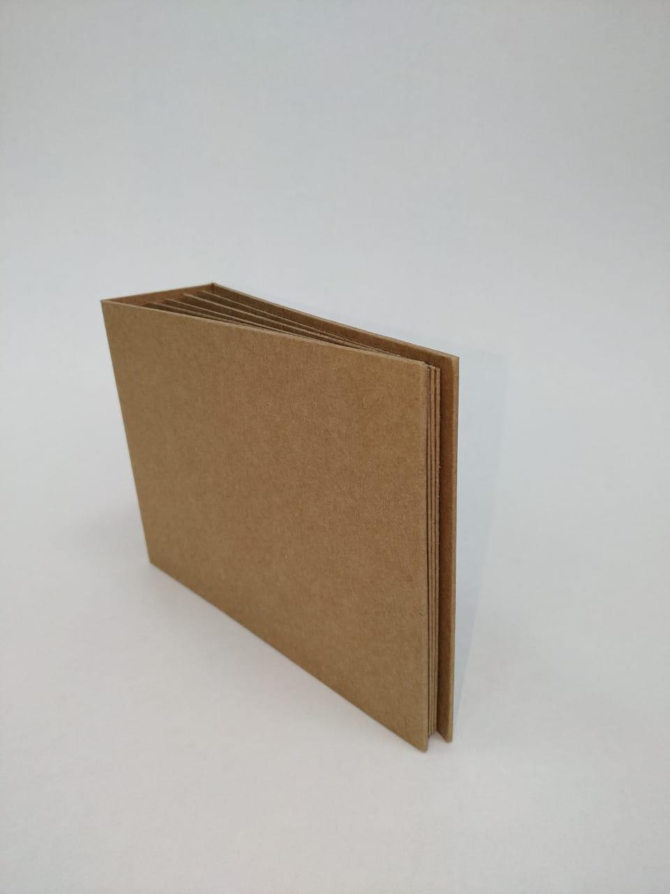 Álbum 12 x 17 com lombada Kraft - JuJu Scrapbook  - JuJu Scrapbook