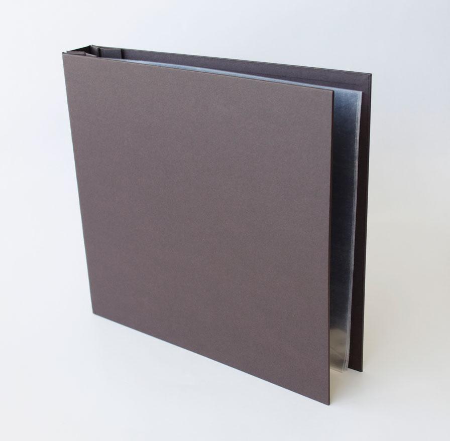 Álbum 30,5 x 30,5 cm Preto / JuJu Scrapbook  - JuJu Scrapbook