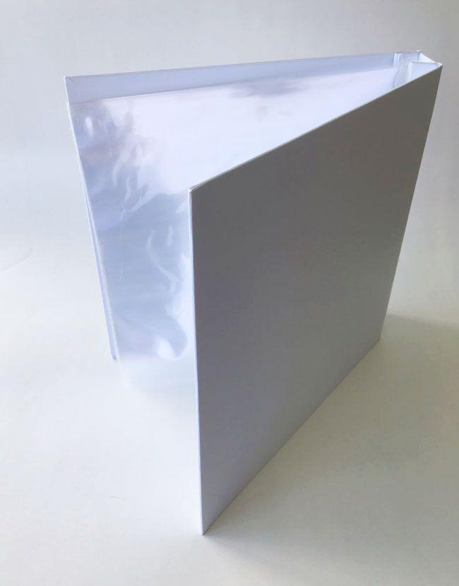 Álbum 30,5 x 30,5 cm Branco / JuJu Scrapbook  - JuJu Scrapbook