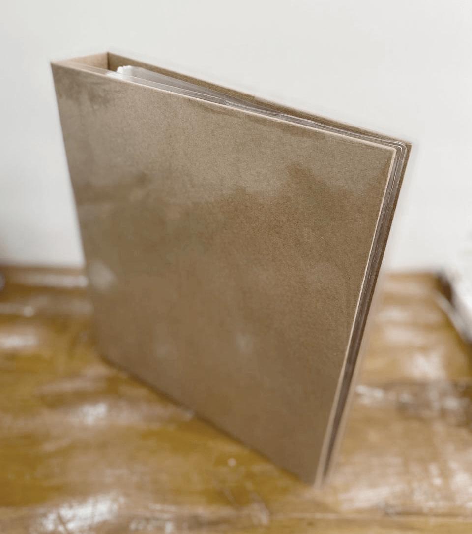 Álbum tipo Fichário A4 - Kraft / JuJu Scrapbook  - JuJu Scrapbook