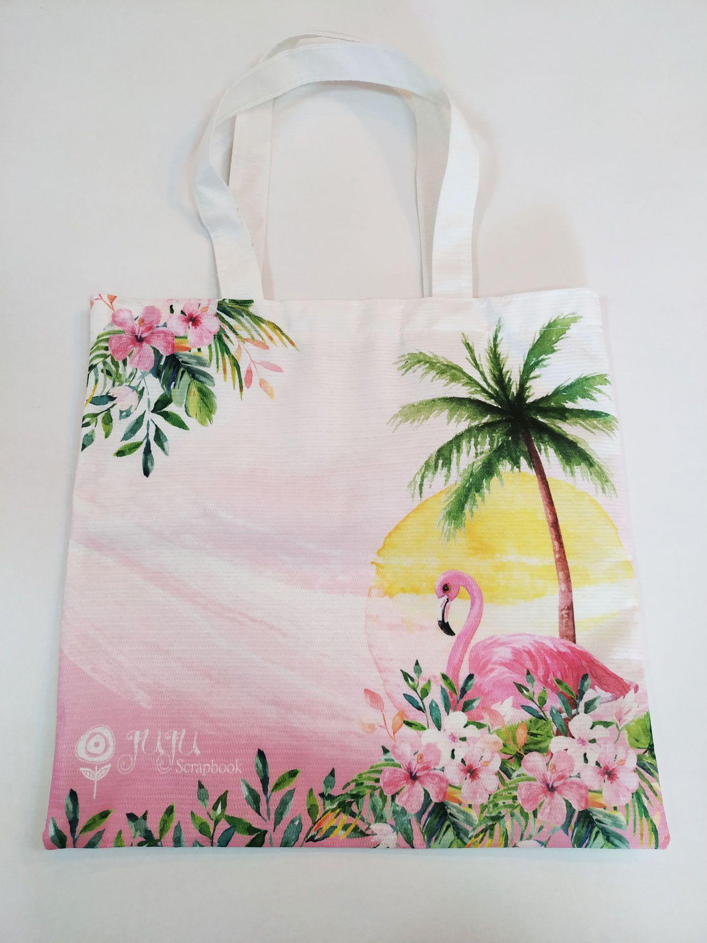 Bolsa Tarde de Verão - Coleção Paraíso Tropical - JuJu Scrapbook  - JuJu Scrapbook