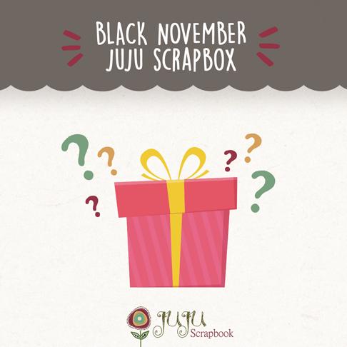 Juju ScrapBOX Surpresa - Juju Scrapbook   - JuJu Scrapbook