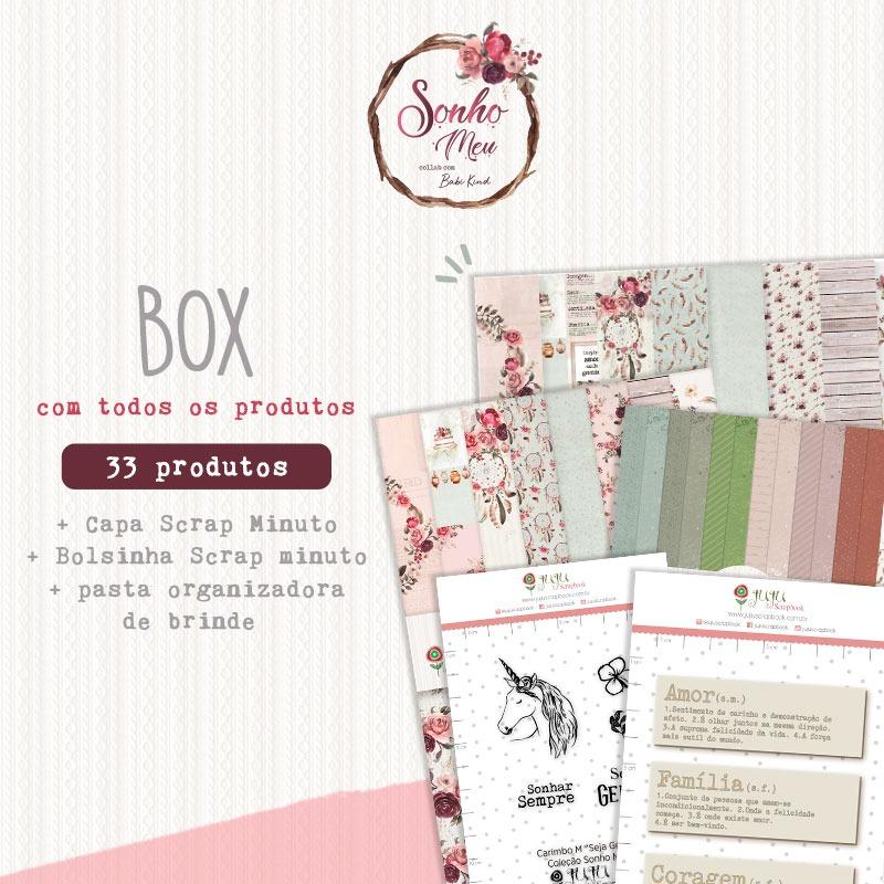 Box Coleção Sonho Meu - Juju Scrapbook  - JuJu Scrapbook