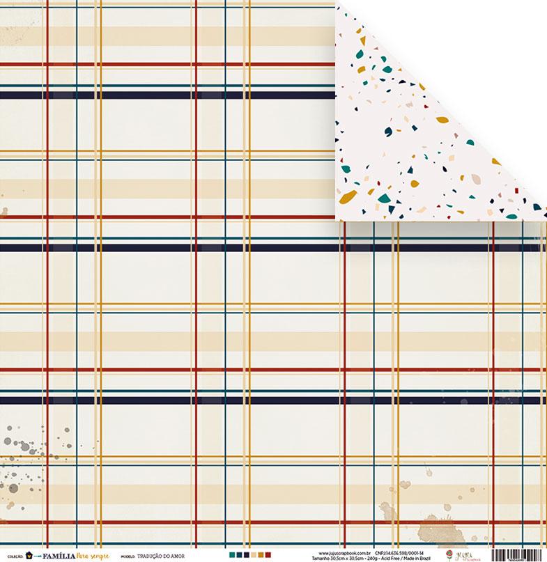 Box I - Turma 4 Clube do Scrap Minuto - Juju Scrapbook  - JuJu Scrapbook