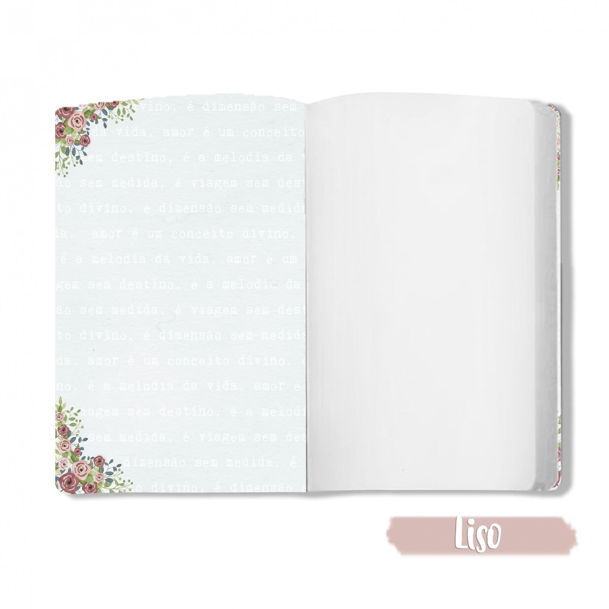 Caderno Amor em Forma de Flor - Scrap Minuto - Coleção Abraço de Urso / JuJu Scrapbook  - JuJu Scrapbook