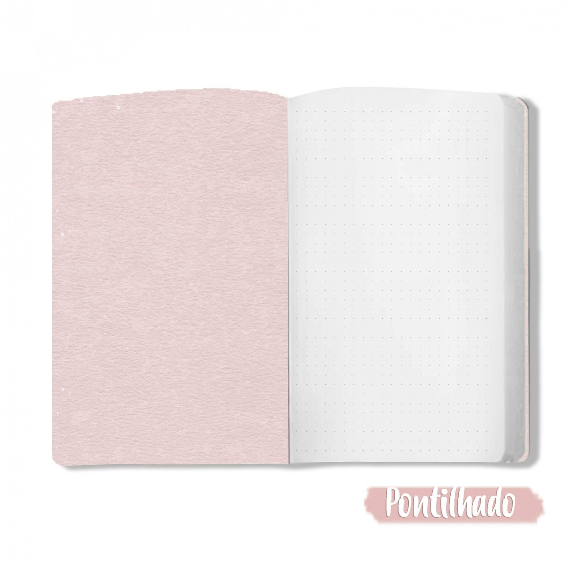 Caderno Bola de Chiclete - Scrap Minuto - Coleção Toda Básica / JuJu Scrapbook  - JuJu Scrapbook
