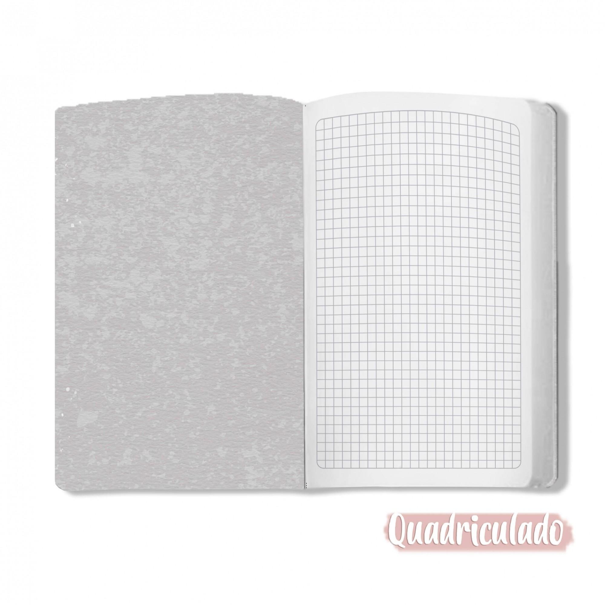 Caderno Cósmico - Scrap Minuto - Coleção Toda Básica / JuJu Scrapbook  - JuJu Scrapbook