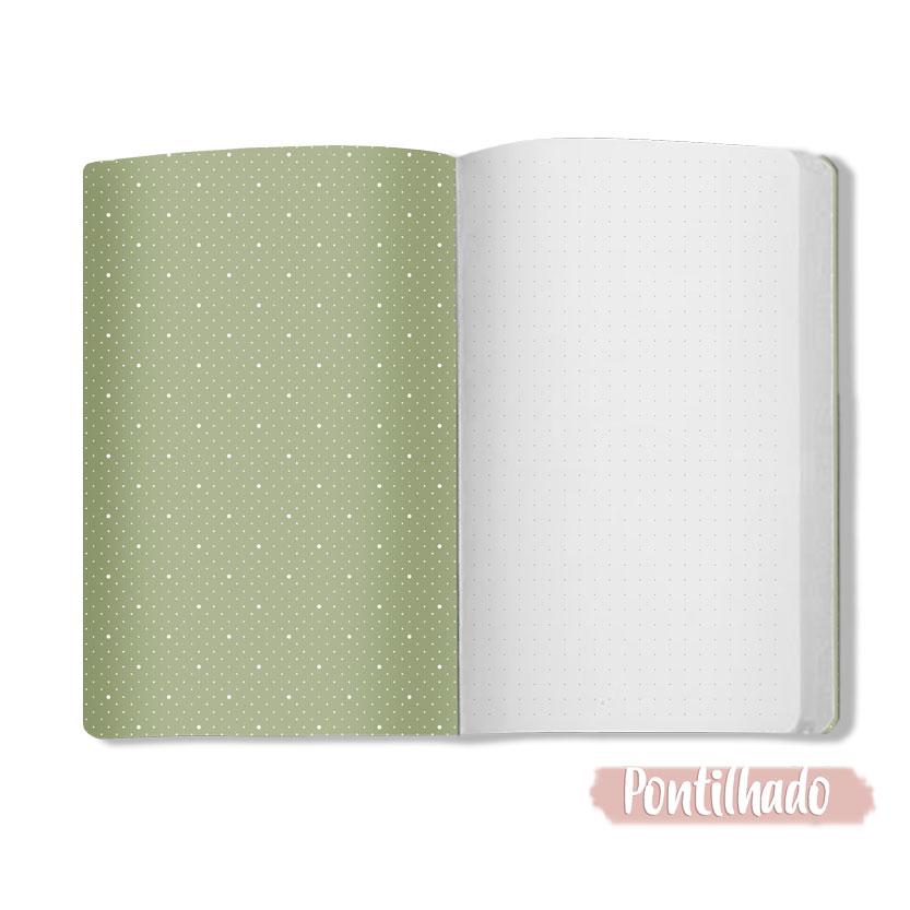 Caderno Floral - Scrap Minuto - Coleção Cartas para Você / Juju Scrapbook  - JuJu Scrapbook