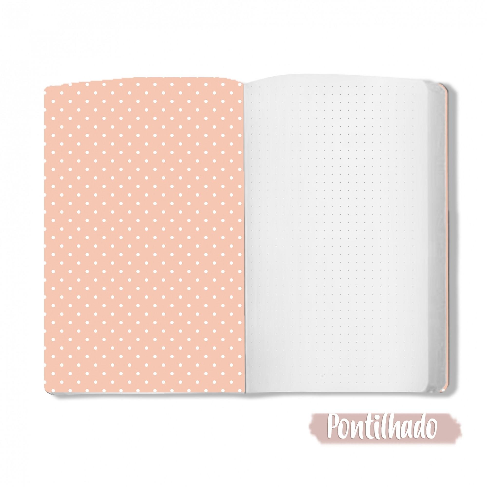 Caderno Floreando a Vida - Scrap Minuto - Coleção Amizade é Tudo / Juju Scrapbook  - JuJu Scrapbook