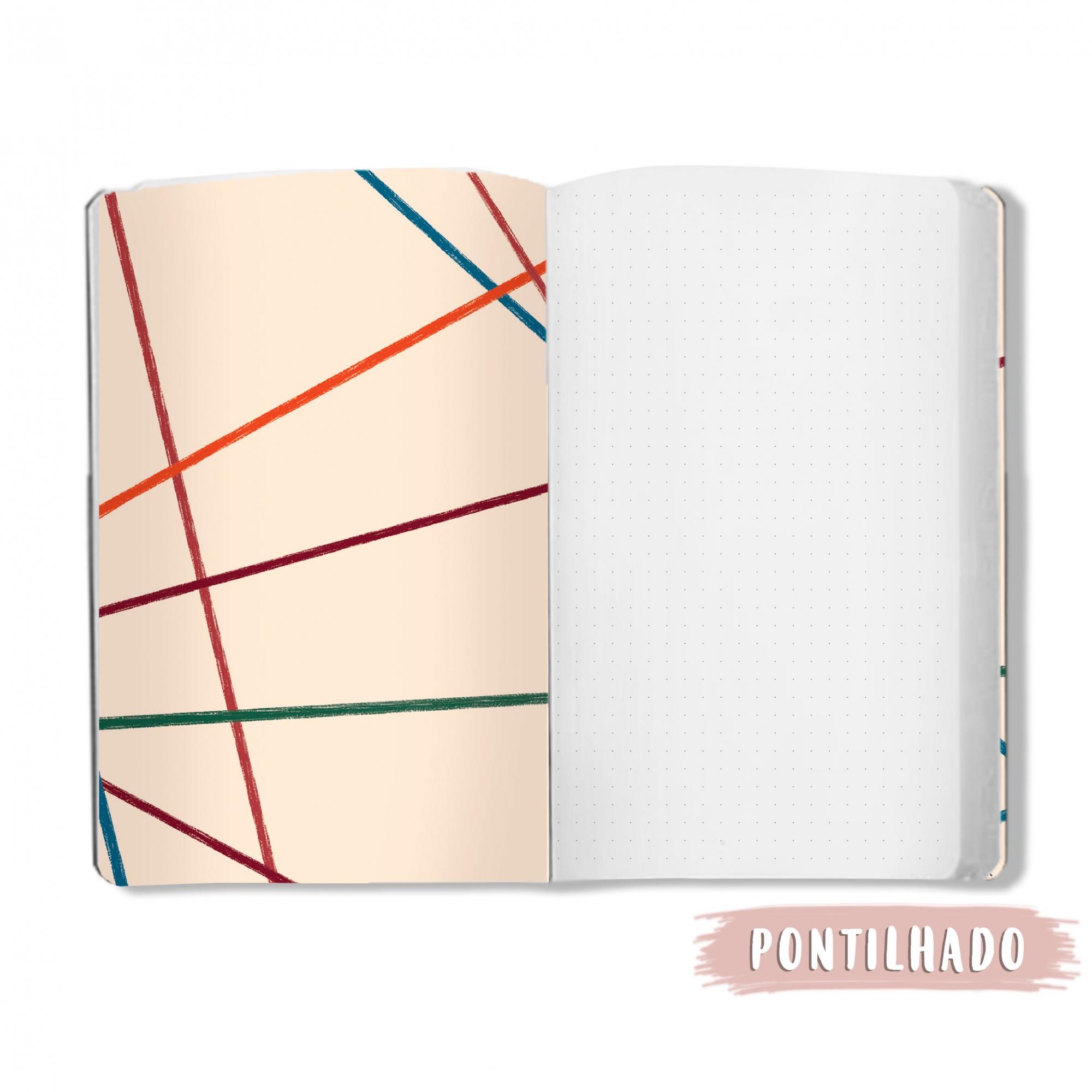 Caderno Linhas - Scrap Minuto - Coleção Nosso Herói / Juju Scrapbook  - JuJu Scrapbook