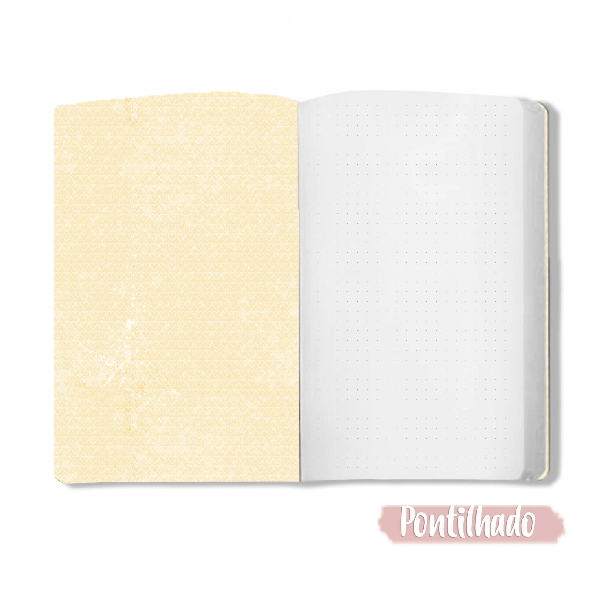Caderno O Amor é a Resposta - Scrap Minuto - Coleção Abraço de Urso / JuJu Scrapbook  - JuJu Scrapbook