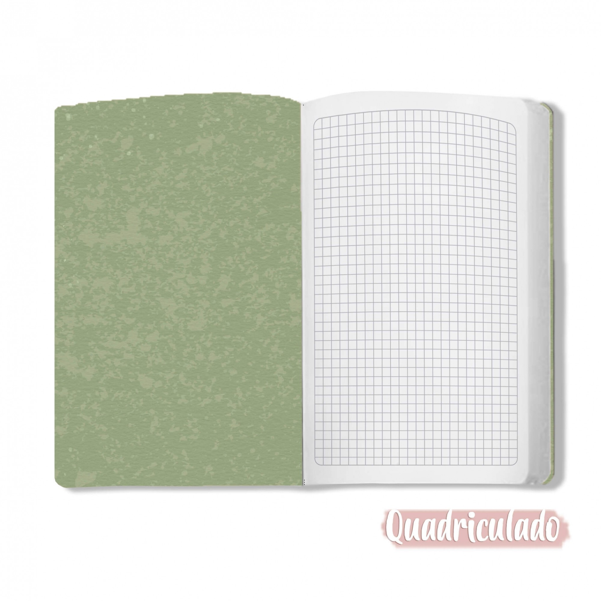 Caderno Orvalho - Scrap Minuto - Coleção Toda Básica / JuJu Scrapbook  - JuJu Scrapbook