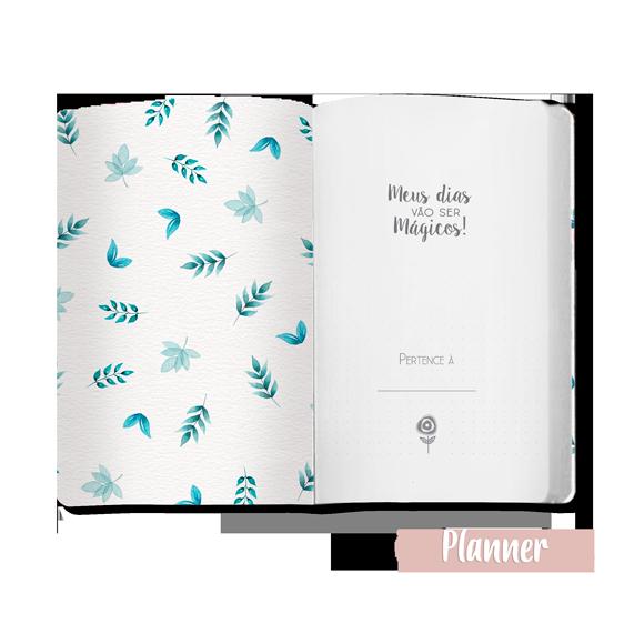 """Caderno """"Pote de Flores"""" - Scrap Minuto - Coleção Quarentena Criativa / Juju Scrapbook  - JuJu Scrapbook"""